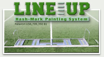 LineUp Football Field Hashmarks System Tool Professional